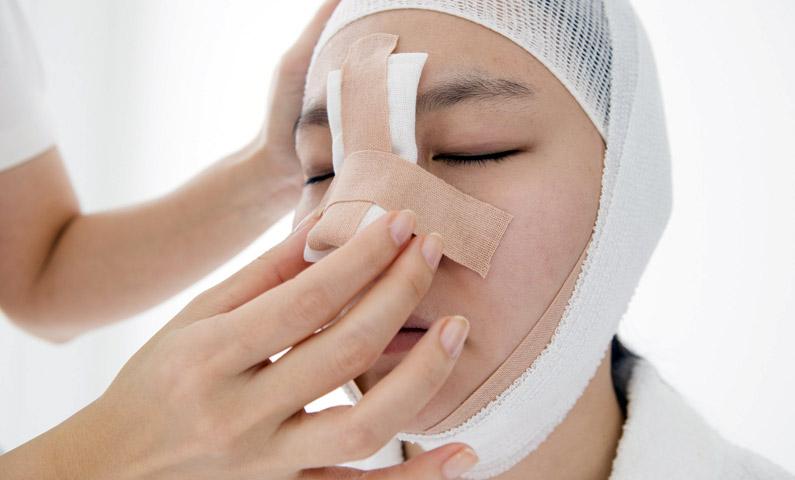 درمان شکستگی بینی