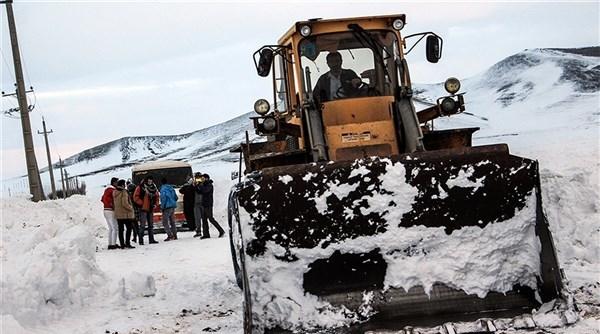 وقوع برف و کولاک در ۶ استان کشور