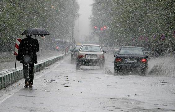 برف و باران ۶ استان را درنوردید