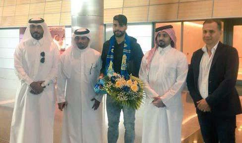 استقبال قطری ها از طارمی در فرودگاه + عکس