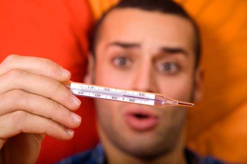 نقش درجه حرارت بدن در بروز بیماریها