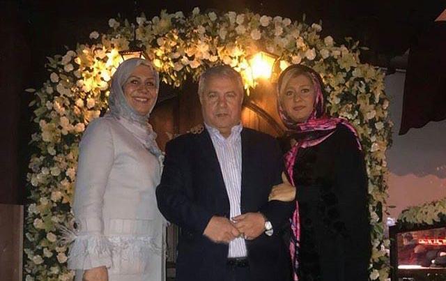 تیپ علی پروین در کنار همسر و دخترش! + عکس