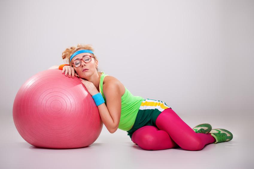چگونه ورزش کنیم که خسته نشویم؟