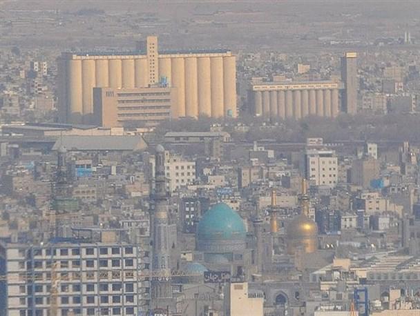 آلودگی بی سابقه هوای مشهد