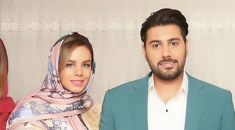 تیپ احسان خواجه امیری و همسرش در یک مهمانی! + عکس