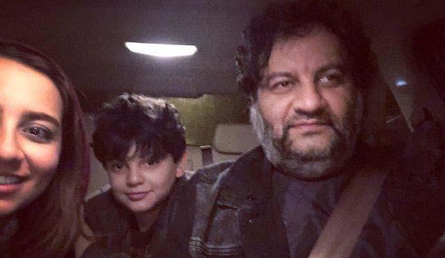 خوشگذرانی مهراب قاسم خانی بدون همسرش! + عکس