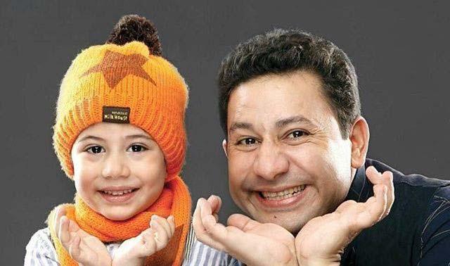 شباهت جالب بازیگر معروف «دورهمی» با پسرش! + عکس