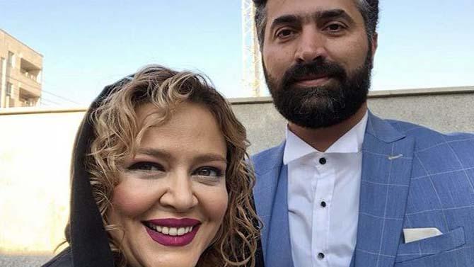تیپ بهاره رهنما و همسرش در یک عروسی! + عکس
