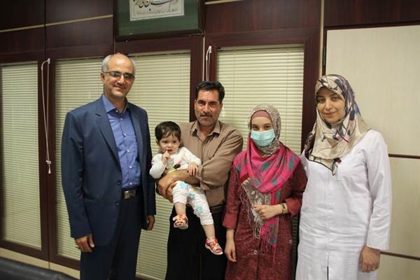 دختری با خون بند ناف از سرطان خون نجات پیدا کرد+تصاویر