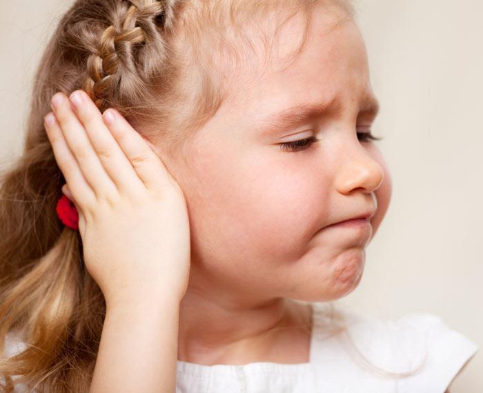 عامل زمینه ساز عفونت گوش در کودکان