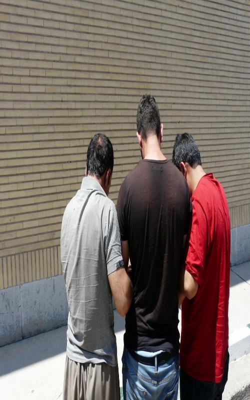 سه آدم ربا دستگیر شدند