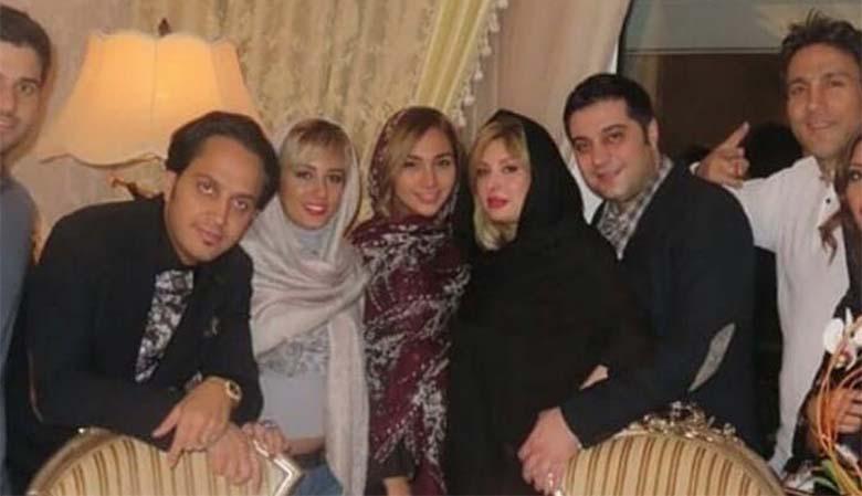 تیپ نیوشا ضیغمی و خواهرش دیشب در یک مهمانی! + عکس