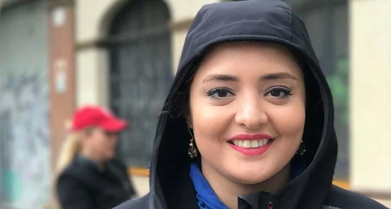 حجاب نرگس محمدی در یک سفر خارجی! + عکس