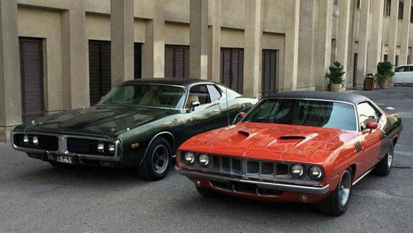 دو خودروی خاص آمریکایی در تهران! + عکس