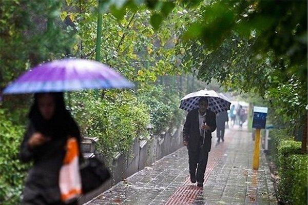 افزایش بارش در شمال کشور/ وزش باد نسبتا شدید در تهران و البرز
