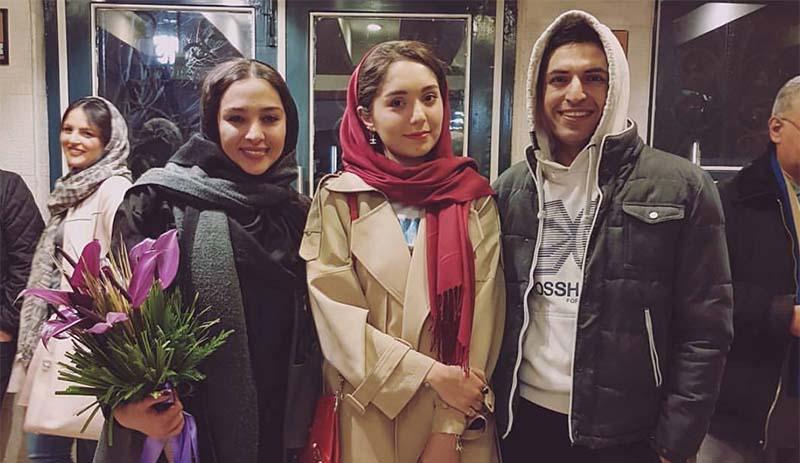 تیپ جدید اشکان خطیبی و همسرش دیشب در یک مراسم! + عکس