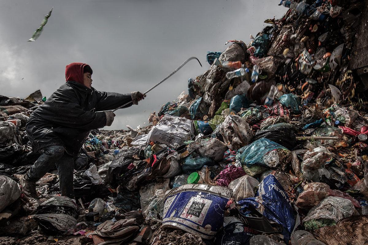 مرگ سیاه کودکان زباله گرد