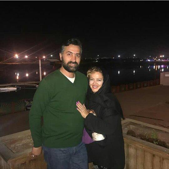 خوشگذرانی بهاره رهنما و همسرش در اهواز! + عکس