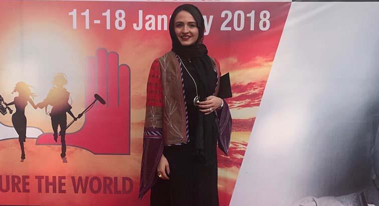 تیپ گلاره عباسی در یک جشنواره خارجی! + عکس
