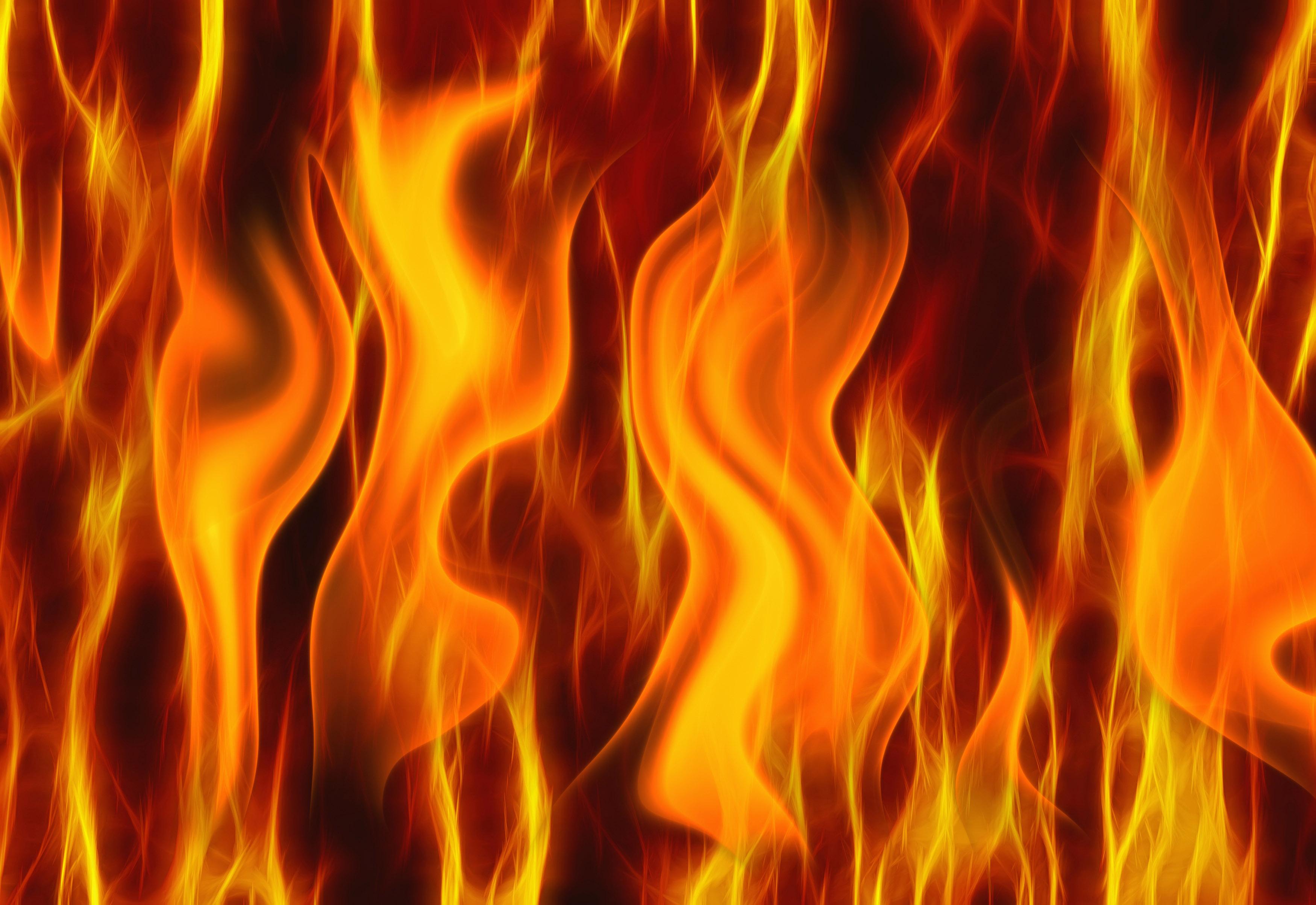 مرگ دو جوان در شعله های آتش