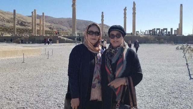 تیپ متفاوت مریم امیرجلالی و دخترش در شیراز! + عکس