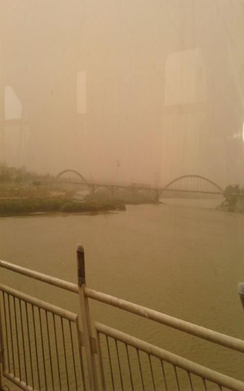 تداوم گرد و خاک شدید در خوزستان