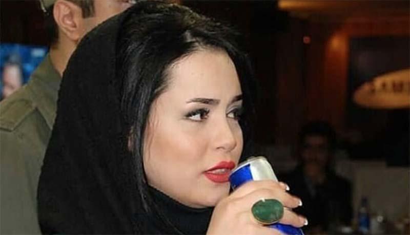نوشیدنی مورد علاقه «ملیکا شریفی نیا» در یک مهمانی! + عکس