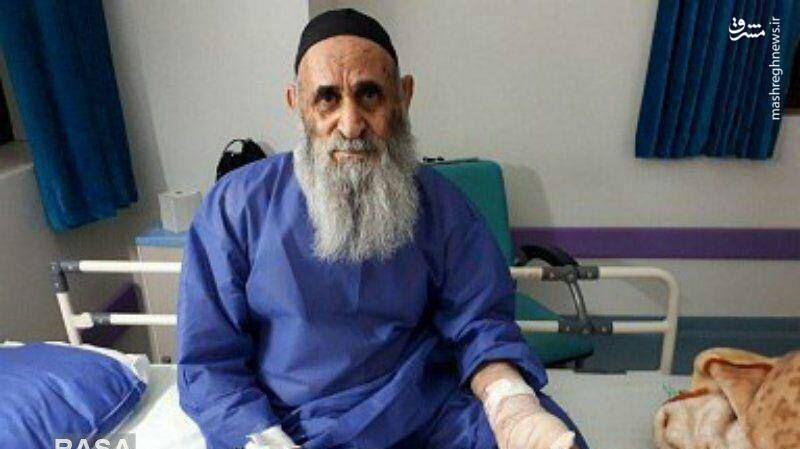 روحانی پیری که مورد حمله قرار گرفت (+عکس)