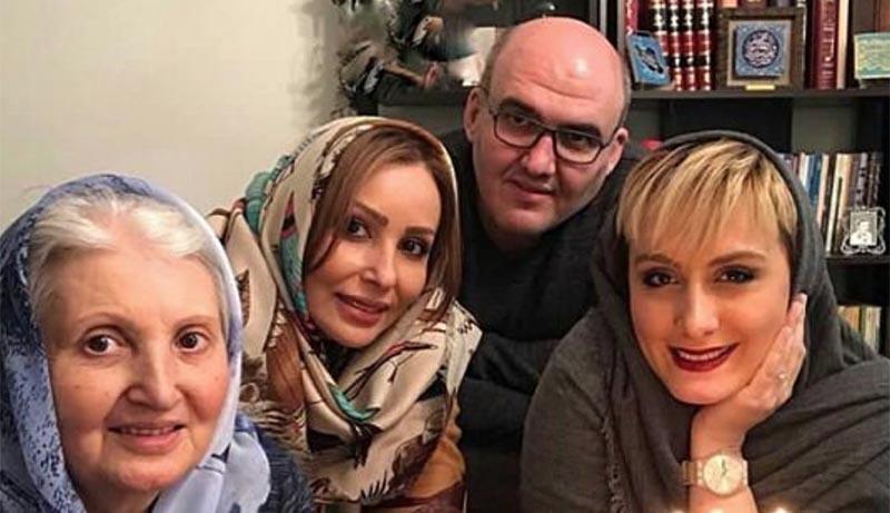عکس خانوادگی منتشر شده از پرستو صالحی!