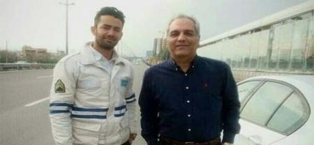 وقتی پلیس BMW مهران مدیری را متوقف می کند! + عکس