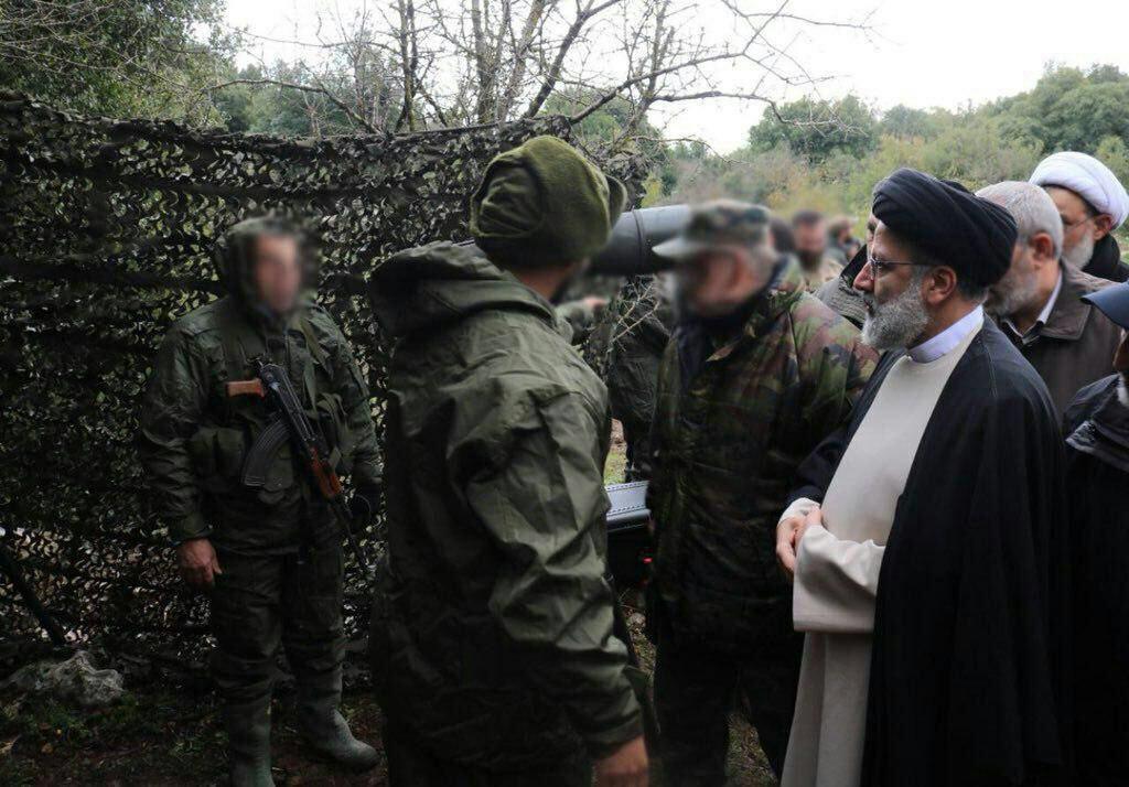 حضور رئیسی در مرز اسرائیل و لبنان! + عکس