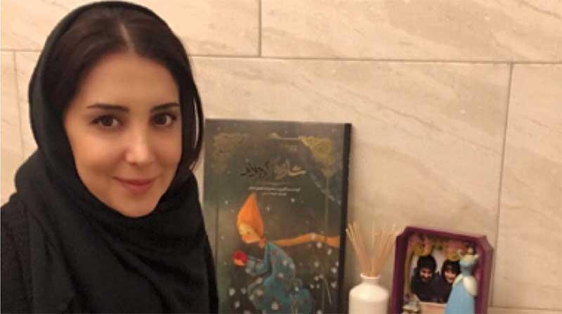 بازیگر زن ایرانی در کنار مادر آمریکایی اش! + عکس