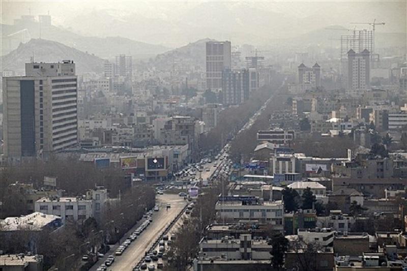 کیفیت هوای کدام استانهای کشور ناسالم میشود