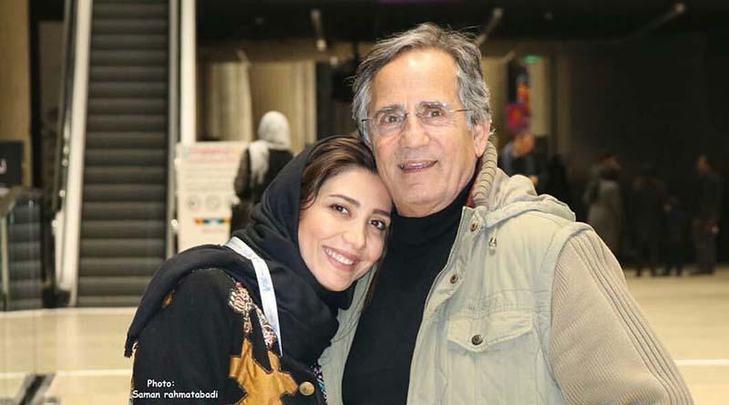 تیپ مجید مظفری و دخترش دیشب در جشنواره فجر! + عکس