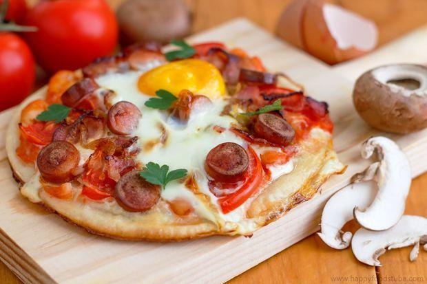 یک برش پیتزا سالم تر از یک کاسه غلات برای صبحانه