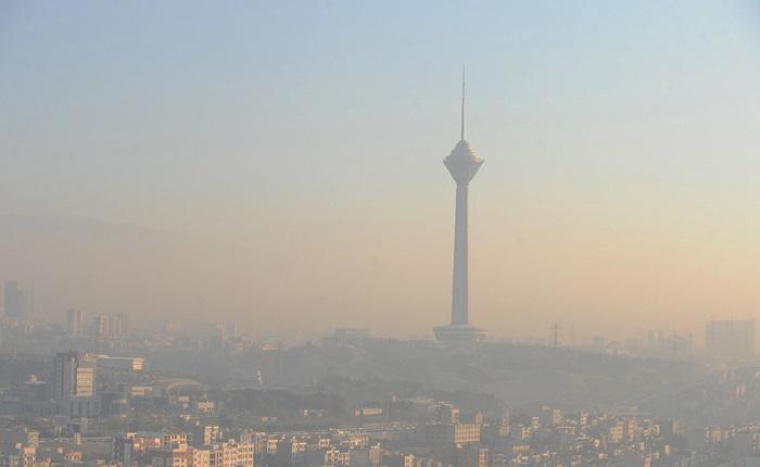 آلودگی هوای این مناطق تهران به حالت هشدار رسیده است+عکس