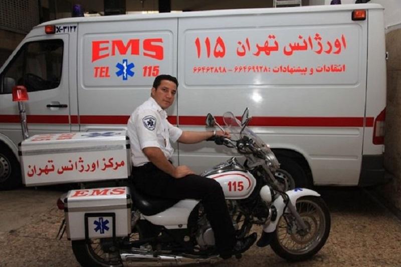 موتورلانس های  اورژانس تهران /اینفوگرافیک