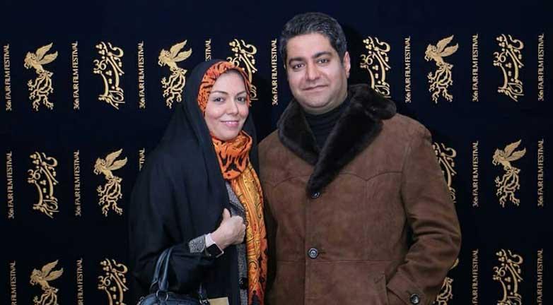 تیپ آزاده نامداری و همسرش دیشب در یک مراسم! (+عکس)