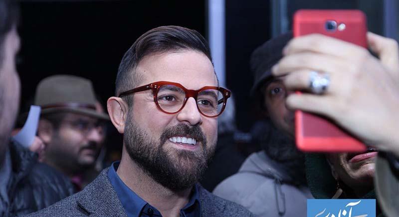 چهره متفاوت هومن سیدی روی فرش قرمز جشنواره! + عکس