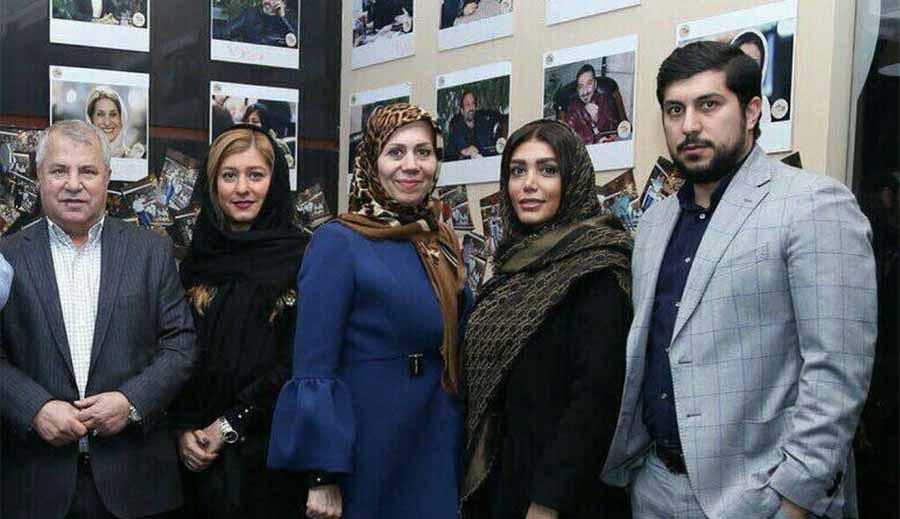تیپ علی پروین به همراه همسر، دختر و پسرش! + عکس