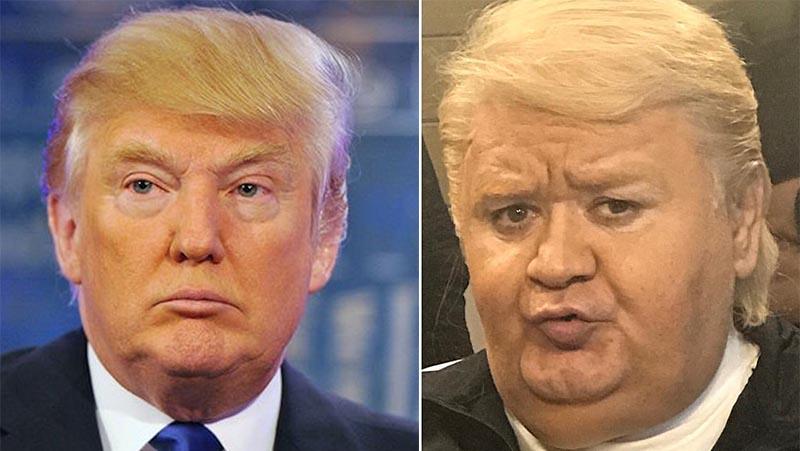 اکبر عبدی در نقش دونالد ترامپ! + عکس