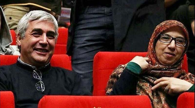تیپ ابراهیم حاتمی کیا و همسرش دیشب در یک مراسم! + عکس
