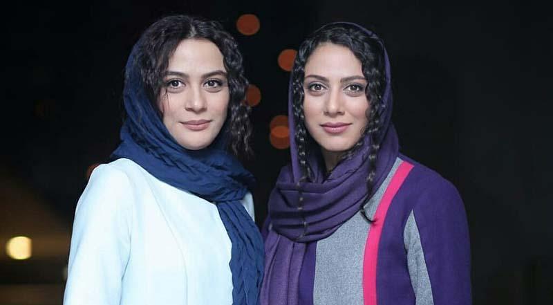 شباهت جالب مونا فرجاد و خواهرش مارال! + عکس