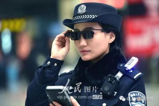 بازداشت خلافکاران با عینک جدید پلیس چین + عکس