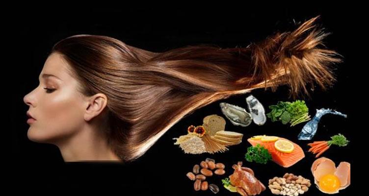 7 ماده غذایی برای افزایش رشد مو