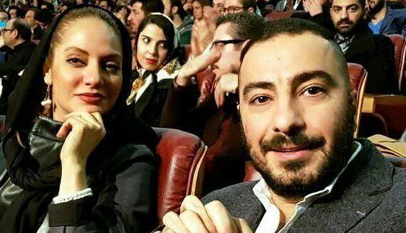 تیپ نوید محمدزاده و مهناز افشار در اختتامیه جشنواره فجر! + عکس