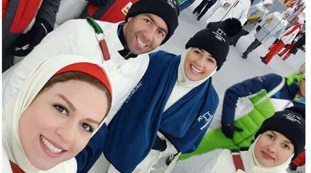 تیپ ورزشکاران زن و مرد ایرانی در المپیک زمستانی + عکس