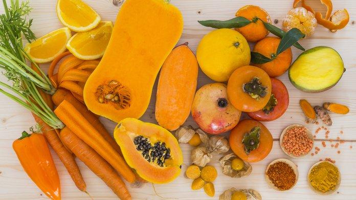 ۵ مزیت میوه و سبزیجات نارنجی رنگ را بشناسید