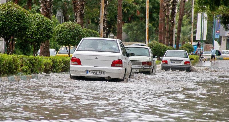 هشدار هواشناسی در مورد آبگرفتگی معابر تهران