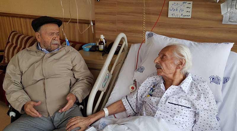 ملاقات سوپراستارهای سینمای ایران در بیمارستان! + عکس